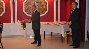 Торжественное вручение свидетельств о членстве в Астраханском Морском собрании