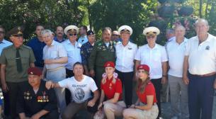 Возложение венков в День памяти и скорби - день начала ВОВ